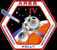 Insigne de mission d'Ares IV