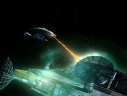 Voyager attackiert Penks Schiff