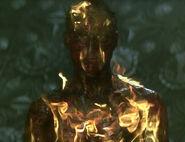 Burning individual