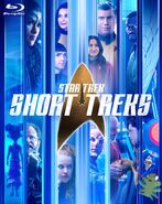 Star Trek Short Treks Blu-ray cover