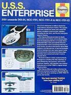 USS Enterprise Owners Workshop Manual back cover (UK)