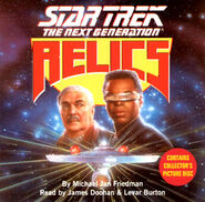 Relics novelization audiobook, CD edition