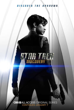 Star Trek Discovery Season 1 Chapter 2 Michael Burnham poster.jpg