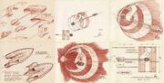 Early USS Enterprise ring-ship design concepts by Matt Jefferies.jpg