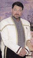 Riker en grande tenue en 2379