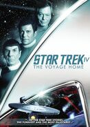 Star Trek IV The Voyage Home 2009 DVD cover Region 1