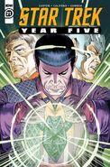 Star Trek Year Five issue 21 cover A