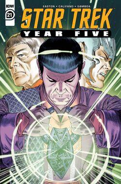 Star Trek Year Five issue 21 cover A.jpg