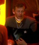 Starfleet officer at Quarks 2375