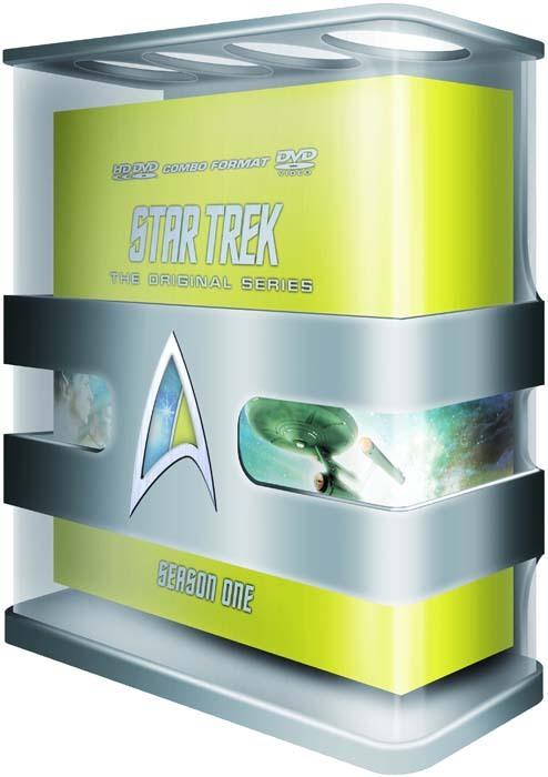 TOS-R DVD-Box Staffel 1 (HD-DVD/DVD)