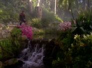 Bajoran monastery garden
