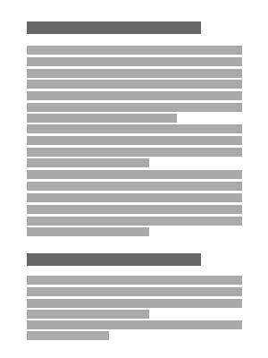 Hintergrundinformationen / Anhänge - Stilvorlage(n)