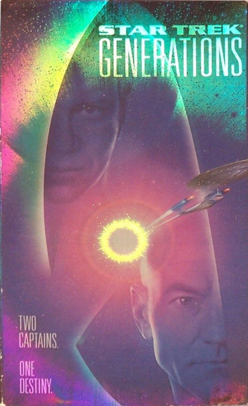 Star Trek Generations (VHS)