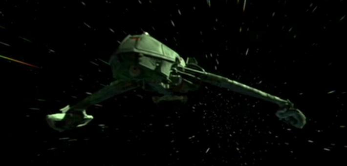 Krell's battle cruiser