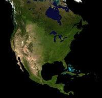 Kontynent Ameryki Północne