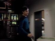 Entrance to the Enterprise-D geological lab