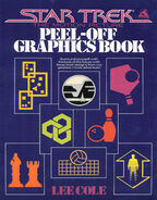 Star Trek The Motion Picture Peel-Off Graphics Book