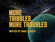 1x05 More Tribbles, More Troubles title card