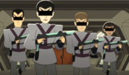 Romulan guards, 2380