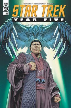 Star Trek Year Five issue 20 cover A.jpg