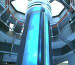 A warp core of an Intrepid-class starship