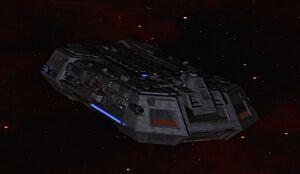Federation holoship (fore)