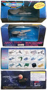 Galoob Namco Star Trek Micro Machines USS Enterprise