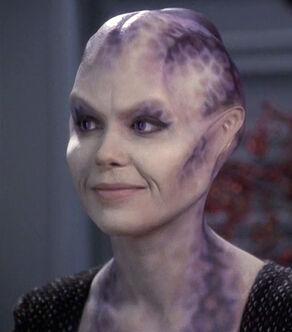 Jhet'leya, (formerly Lyndsay Ballard), a Kobali female (2375)