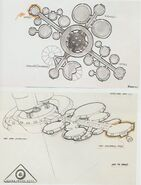 Orbital office complex, concept art