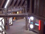 Quark's second level entrance unfinished