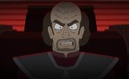Klingon captain, 2380