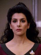 Paxaner im Körper von Deanna Troi