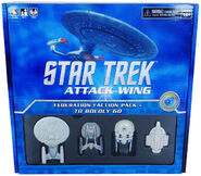 ST Attack Wing Federation To Boldly Go Faction Pack
