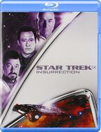 Star Trek Insurrection Blu-ray cover Region A
