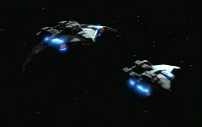 Federation attack fighter