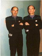 John Nowak and Robert Picardo