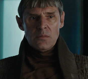 ... as Sarek