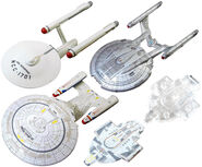 F-Toys Starfleet Collection re-released starships