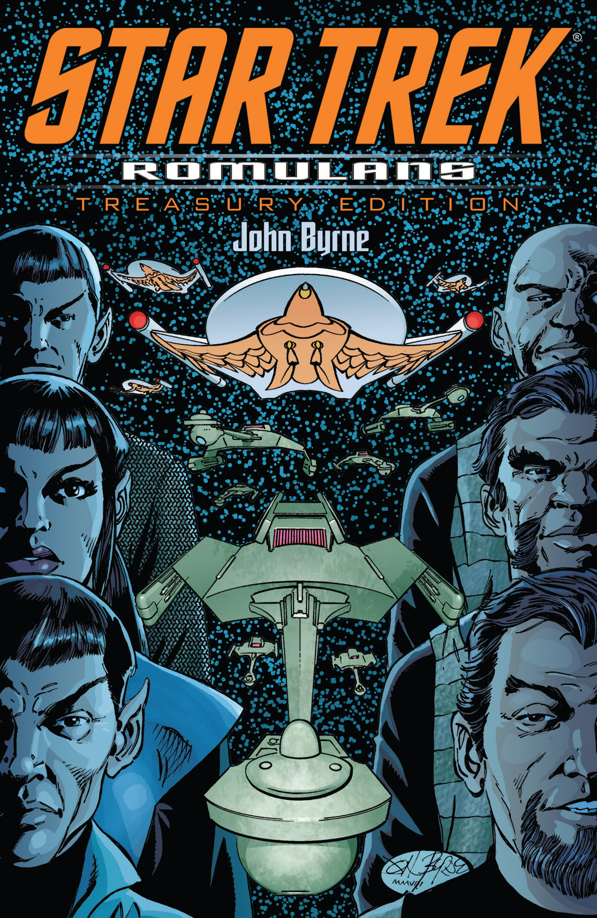 Star Trek: Romulans Treasury Edition