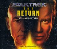 The Return audiobook cover, CD edition