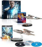 Amazon Star Trek Beyond home video QMx USS Franklin promos