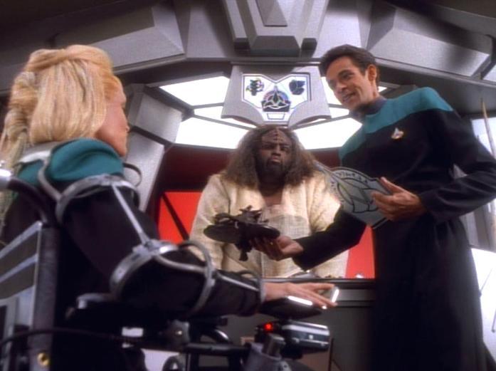 Klingonisches Restaurant auf Deep Space 9