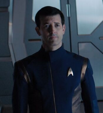 ...as a Federation officer