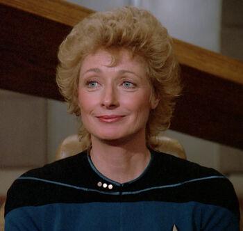 Dr. Katherine Pulaski in 2365