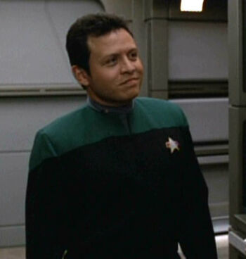 ...as a Voyager crewmember