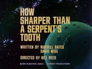 2x05 How Sharper Than a Serpent's Tooth title card