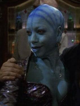 Alandra, a holographic Bolian female (2375)