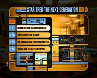 DVD-Menü TNG Staffel 6 Disc 1