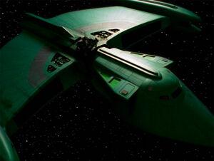 Romulan scout ship