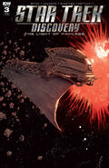 Star Trek Discovery - The Light of Kahless, issue 3 RI-B